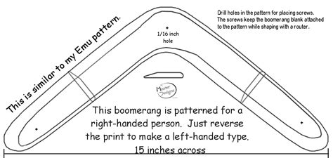 Traditional Boomerang Plans